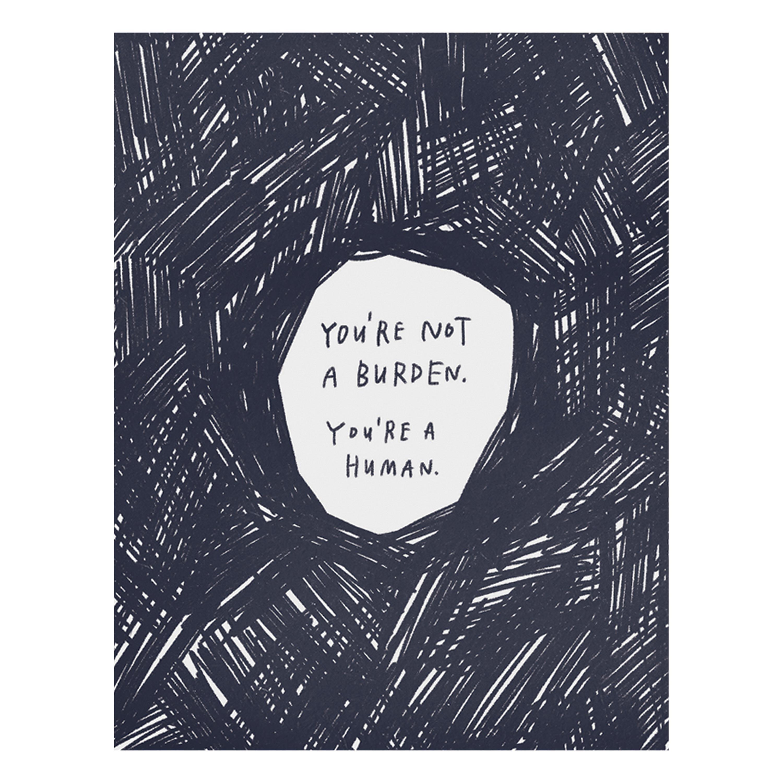 Empathy Friendship Card Strength Card MW004 Anxiety Gift Encouragement Card Mental Health Card: Mental Wellness Depression Card